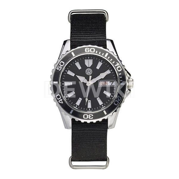 Женские наручные часы Volkswagen Three, Black