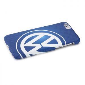 Чехол Volkswagen Logo Samsung Galaxy S6, Blue