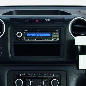 Подстаканник для многофункционального фиксатора Volkswagen Amarok (2H), без кольцедержателя