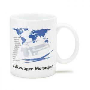 Фарфоровая кружка Volkswagen Motorsport