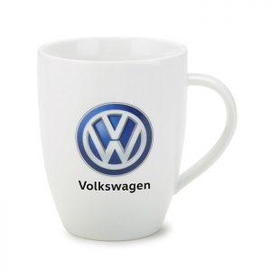 Фарфоровая чашка с логотипом Volkswagen