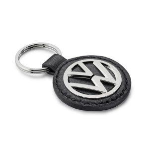 Брелок Volkswagen кожа-металл