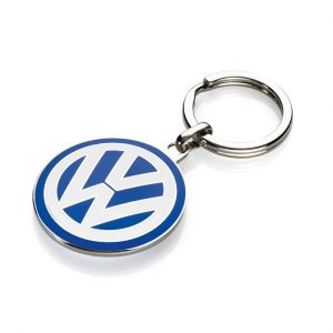Брелок с эмблемой Volkswagen, 37 мм
