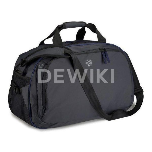 Спортивная сумка Volkswagen Logo, Black