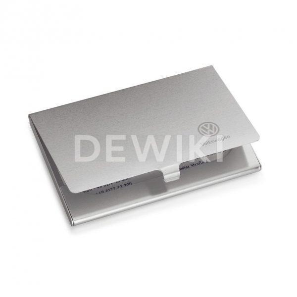 Алюминиевый футляр для визитных карточек Volkswagen