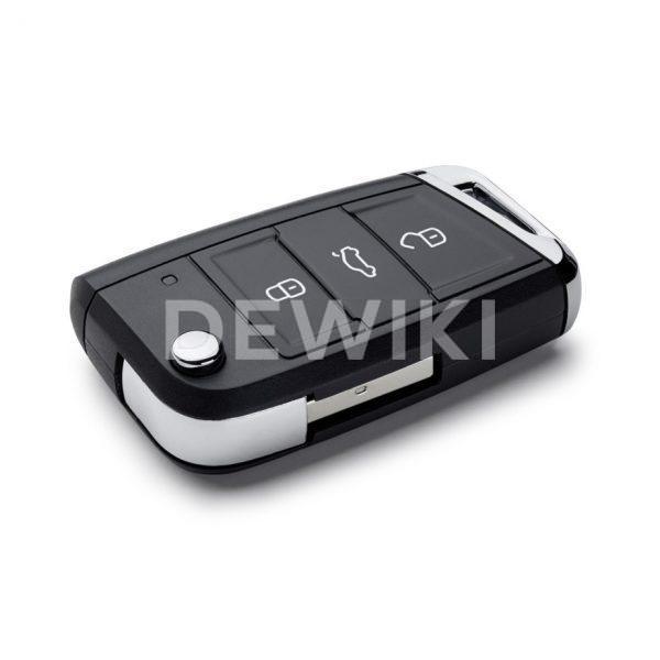 USB флешка в виде ключа Volkswagen, 16Gb