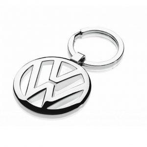 Брелок Volkswagen, металлический логотип