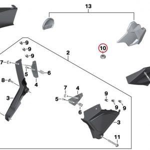 Шестиугольная гайка M5-8-ZNNIV SI BMW