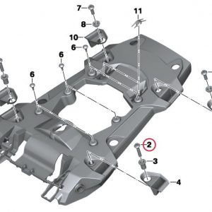 Винт М8х40 MK BMW