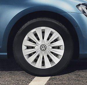 Комплект колесных колпаков R15 Volkswagen, Silver