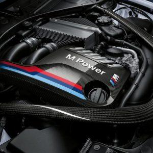 Карбоновая крышка двигателя BMW M Performance M3 и M4 F82/F83