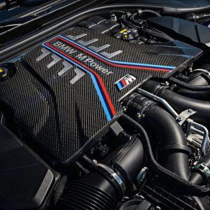 Карбоновая крышка двигателя для BMW M5 F90/ M8 F91