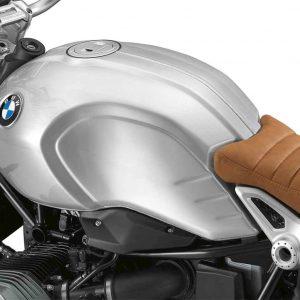 Алюминиевый топливный бак с ручной шлифовкой и видимым сварным швом BMW R nineT