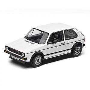 Модель в миниатюре 1:43 Volkswagen Golf I GTI (1976), White