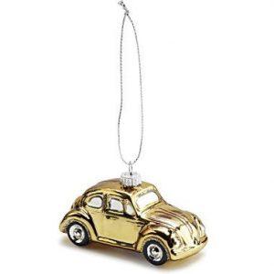 Елочная игрушка Volkswagen Beetle, Gold