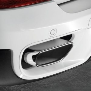 Насадка глушителя левая BMW E70 X5, хромированная