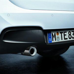 Насадки глушителя BMW M Performance F20/F21 1 серия, карбон