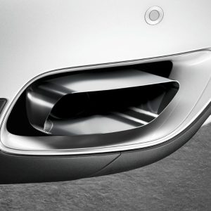 Насадка глушителя BMW M Performance F12/F13/F06 6 серия, хромированная