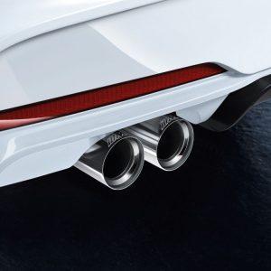 Насадки глушителя BMW M Performance 2,3 и 4 серия, хромированные