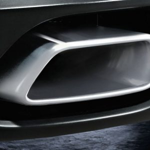 Насадки глушителя BMW M Performance F15/F16 X5 и X6, хромированные