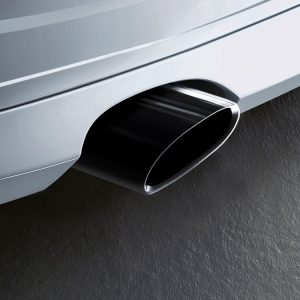 Насадка глушителя BMW E90/E91/E92/E93 3 серия, черный хром