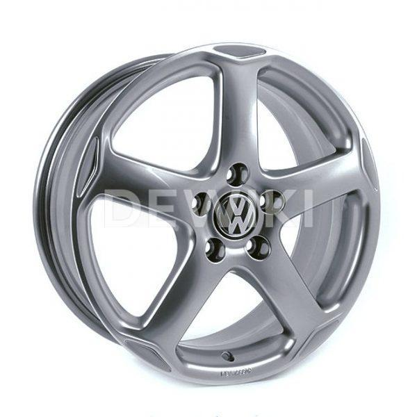 Диск литой R18 Volkswagen, Karthoum Dolomite Grey Metallic, 8J x 18 ET50