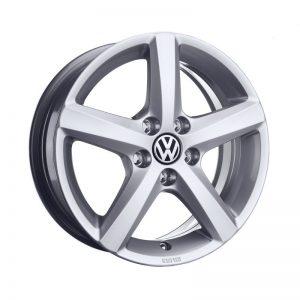 Диск литой R17 Volkswagen, Avignon Bright Chrome, 7J x 17 ET54