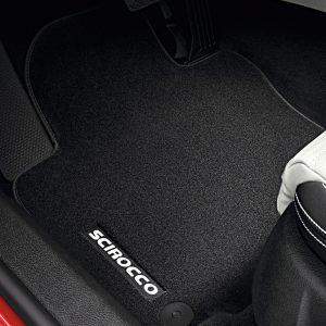 Коврики в салон Volkswagen Scirocco, текстильные Premium передние