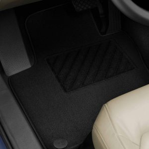 Коврики в салон Volkswagen Golf 5 / 6 / Jetta / Scirocco 3, текстильные Plus передние и задние, черные