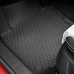 Коврики в салон Volkswagen Scirocco, резиновые передние