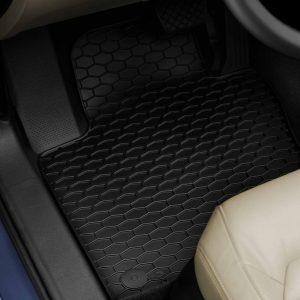 Коврики в салон Volkswagen Golf 5 / 6 / Jetta / Scirocco 3, резиновые передние Plus