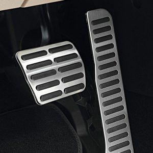 Накладки на педали Volkswagen, для автомобилей с АКПП / DSG, высокая педаль акселератора