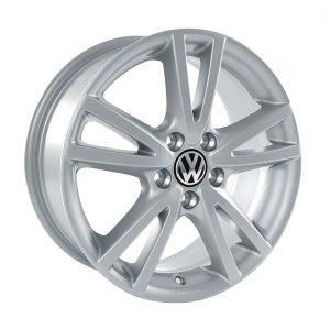 Диск литой R17 Volkswagen, Vision Sterling Silber, 7J x 17 ET54