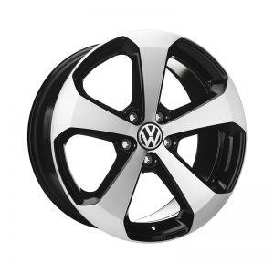 Диск литой R18 Volkswagen, Thunder II Black Glossy, 8J x 18 ET41