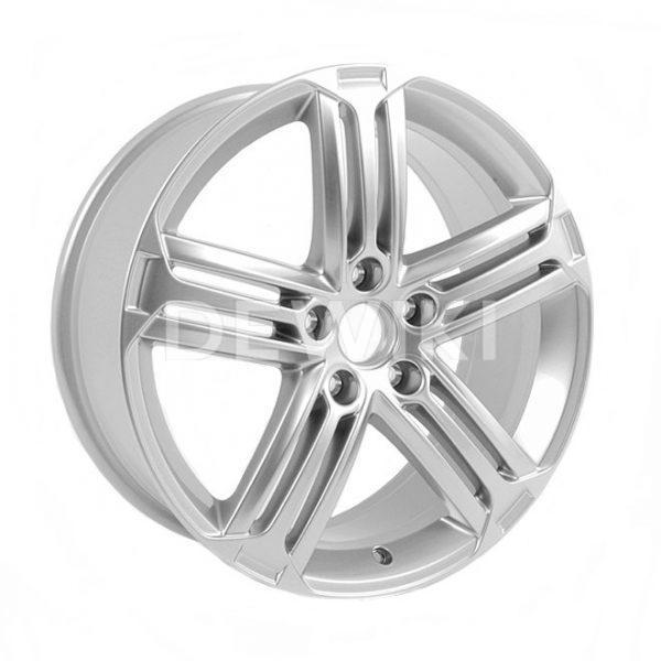 Диск литой R18 Volkswagen, Talladega Bright Chrome, 8,0J x 18 ET41