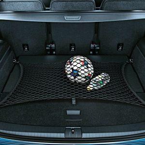 Сетка в багажник Volkswagen Touran 1 / 2, для 5-местных автомобилей с базовым полом багажника