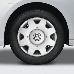 Комплект колесных колпаков R15 Volkswagen, Diamond Silver
