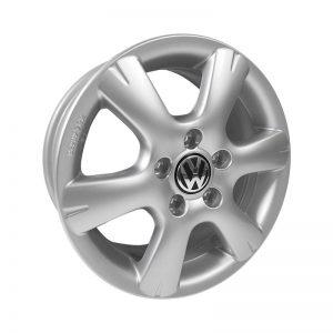 Диск литой R15 Volkswagen, Tangis Brilliant Silver, 6,5J x 15 ET50
