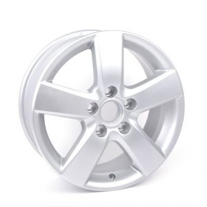 Диск литой R16 Volkswagen, Mugelo Brilliant Silver, 6,5J x 16 ET50