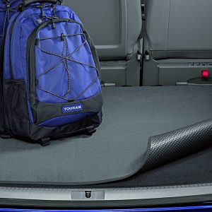 Коврик в багажник Volkswagen Touran 1 / 2, 7-местный, двусторонний