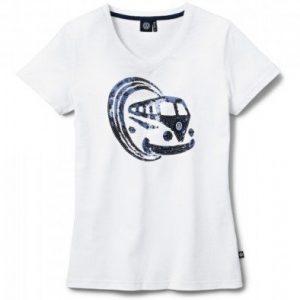 Женская футболка Volkswagen T1 Bulli, White