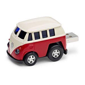 USB Флешка Volkswagen T1 Bulli, Red