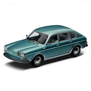 Модель в миниатюре 1:43 Volkswagen Type 411, Turquoise Metallic