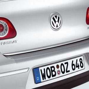 Защитная пленка на задний бампер для Volkswagen Passat (B6) 2005-2010 Limousine