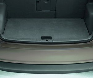 Защитная пленка на задний бампер для Volkswagen Golf Plus