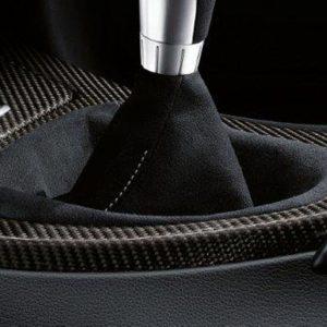 Кожух рукоятки МКПП из алькантары BMW Performance E90/E91/E92/E93 3 серия