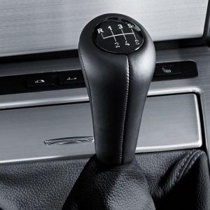 Кожаная рукоятка рычага МКПП BMW E46/E60/E61/E64/E63/E36/E53 X5,3,5 и 6 серия