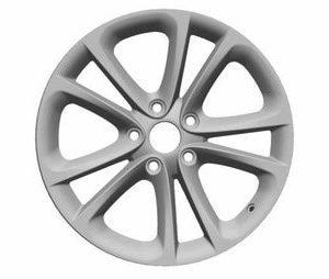 Диск литой R17 Volkswagen, Spa Bright Chrome, 8,0J x 17 ET41