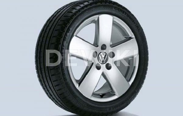 Диск литой R17 VAG дизайн Monte Carlo Brillantsilber для VW