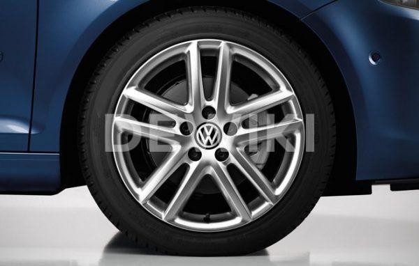 Диск литой R17 Volkswagen, Siena Grey Metallic, 7,5J x 17 ET47